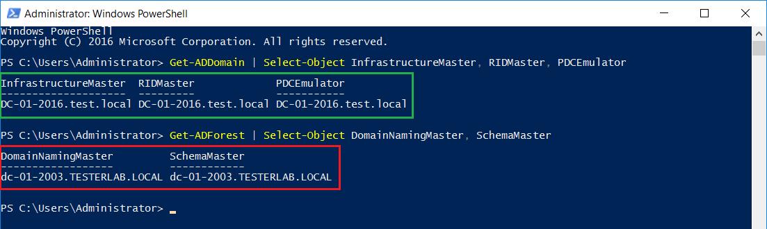 Migrazione dominio Active Directory