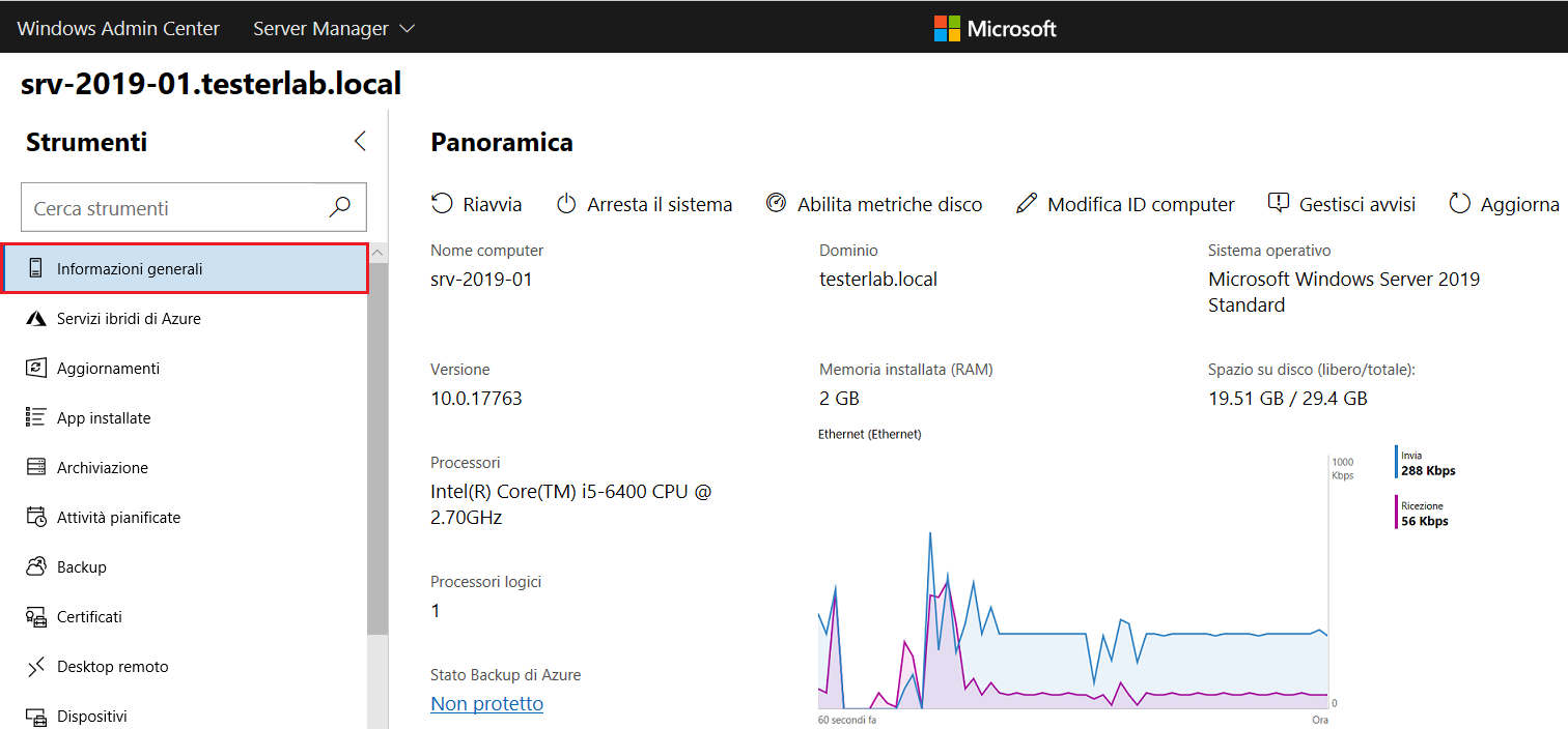Windows Admin Center - Informazioni generali